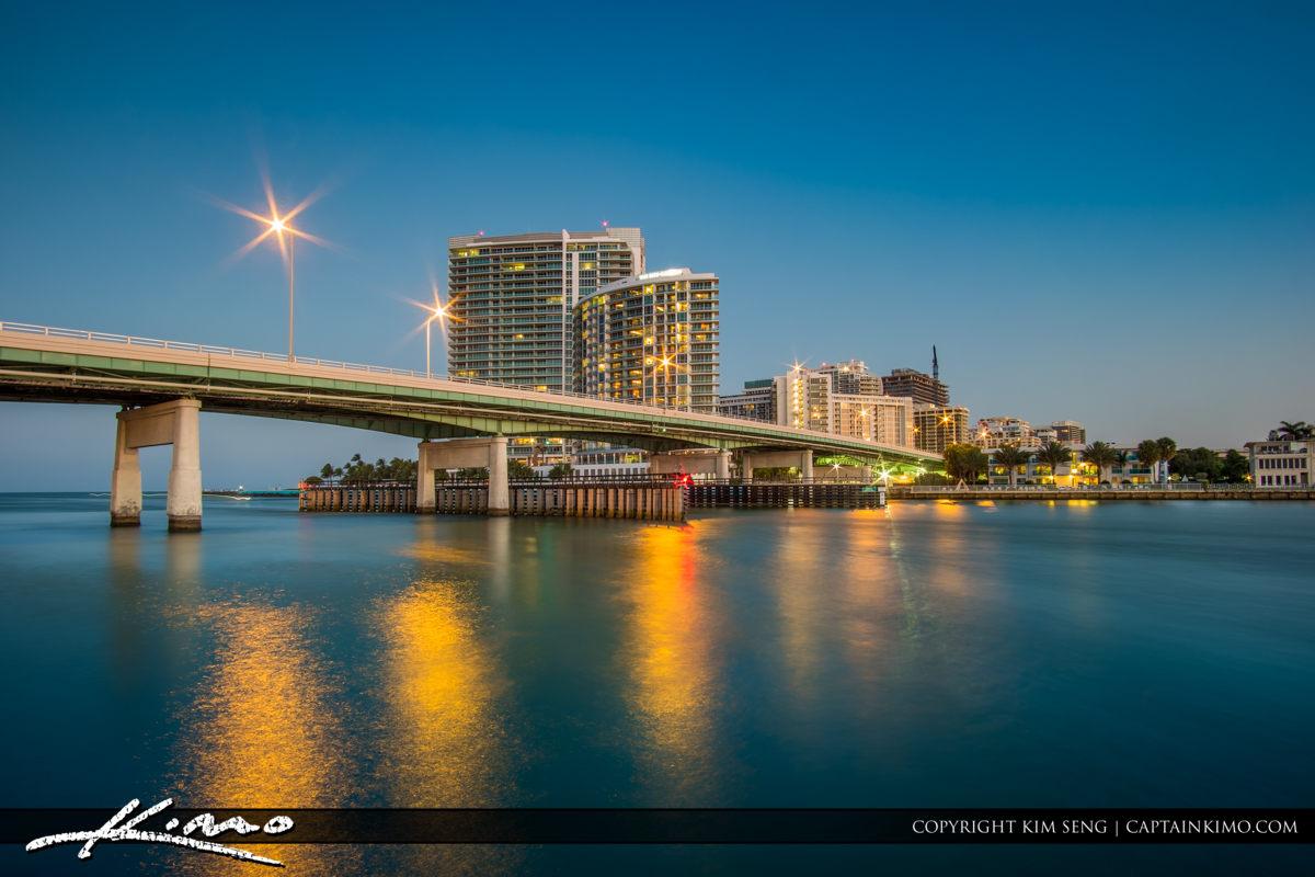 Haulover Park Florida Inlet Bridge Ritz Carlton