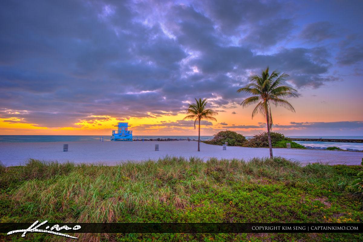 Haulover Park Florida Lifeguard Tower