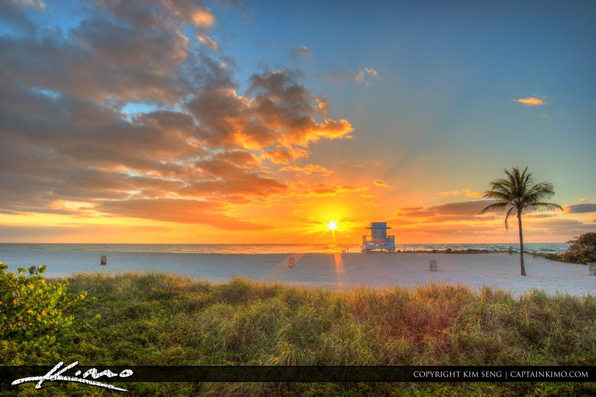 Haulover Park Florida Beautiful Beach Sunrise