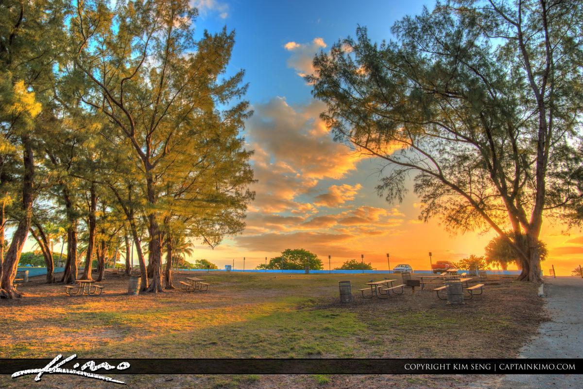 Haulover Park Florida Picnic Area