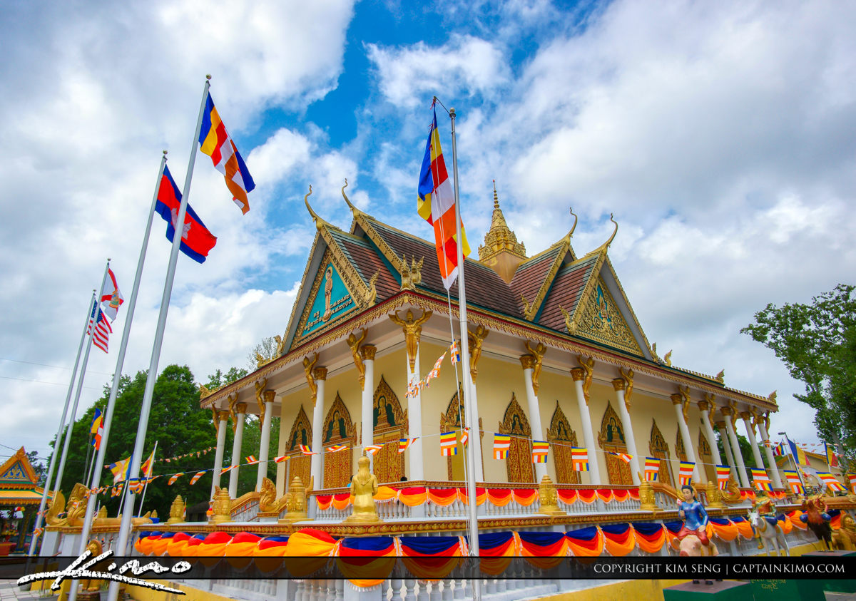 Cambodian Temple at Jacksonville Florida for Khmer New Years 201