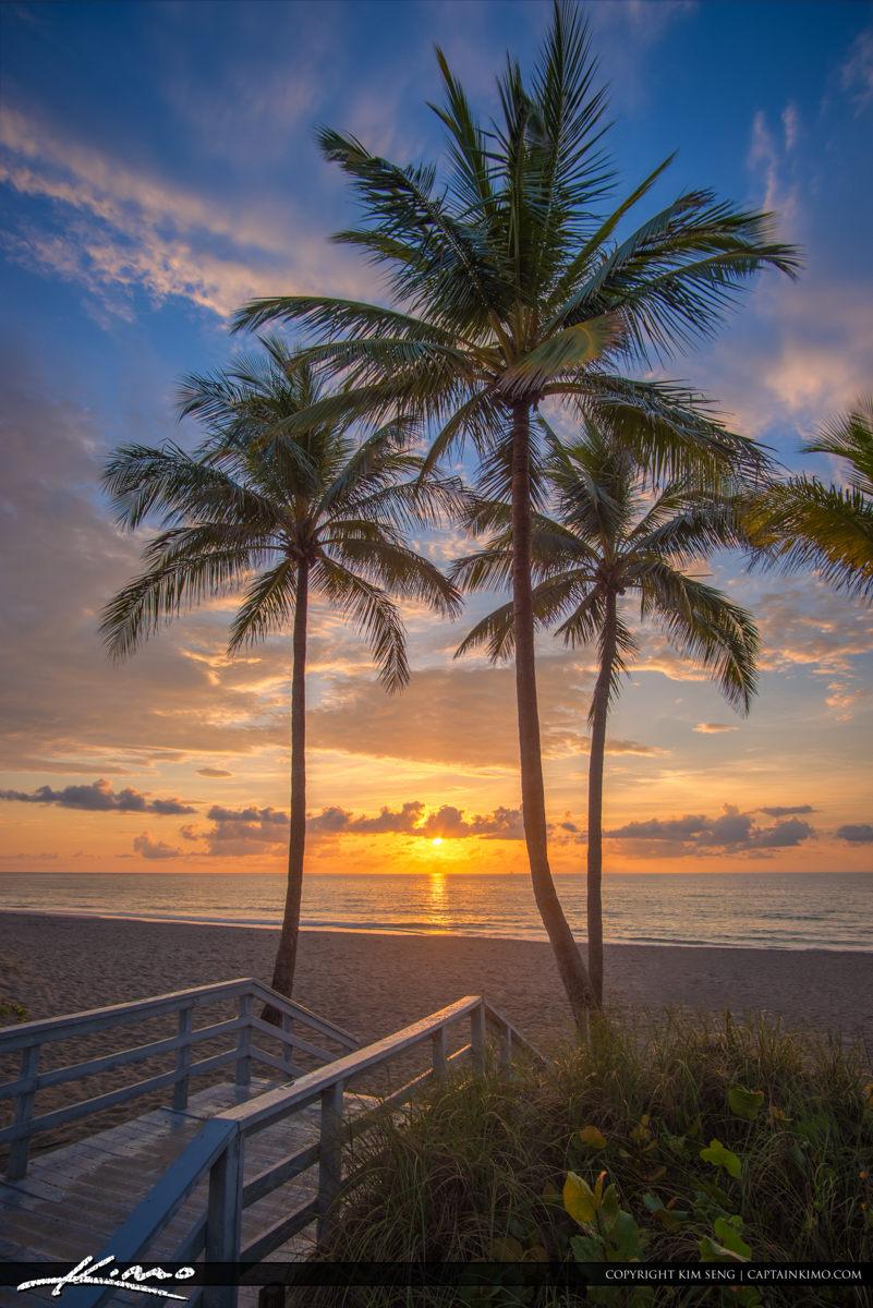 Hollywood Beach Sunrise from Keating Beach