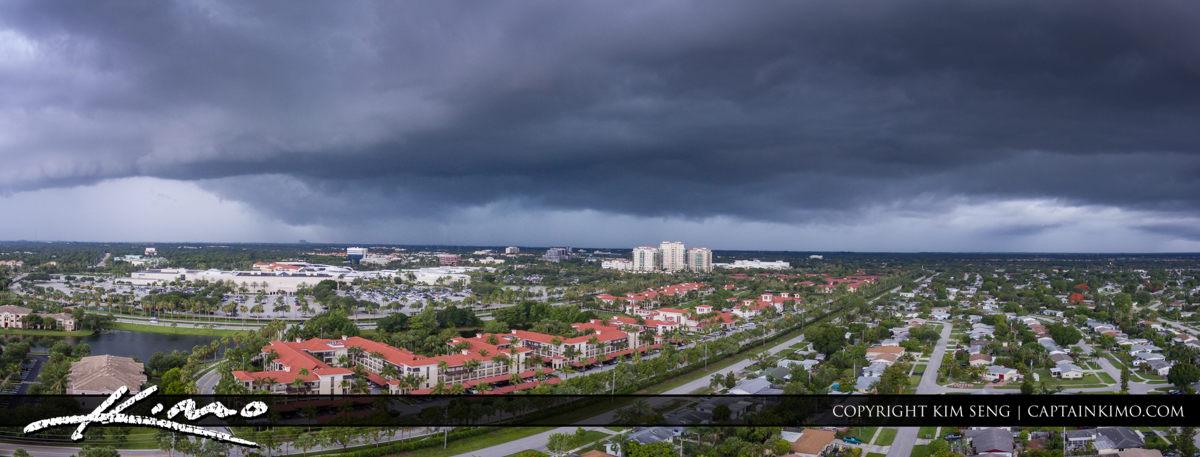 Storm Palm Beach Gardens Florida