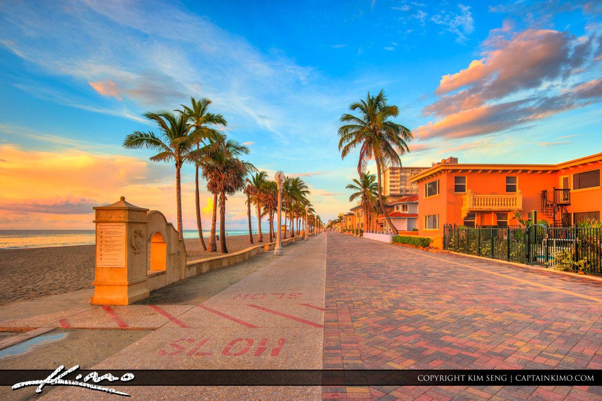 Hollywood Beach Oceanfront Broadwalk Resots