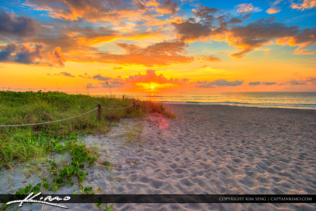 Hollywood Beach South Florida Sunrise