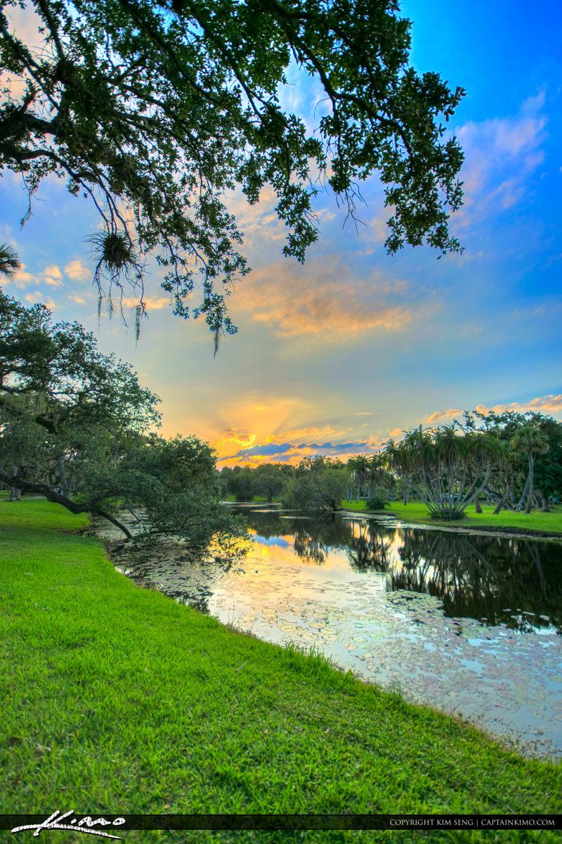 Fort Pierce White City Park at the Pond