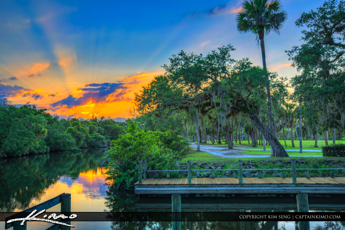 Fort Pierce White City Park St Lucie River at the Boat Ramp