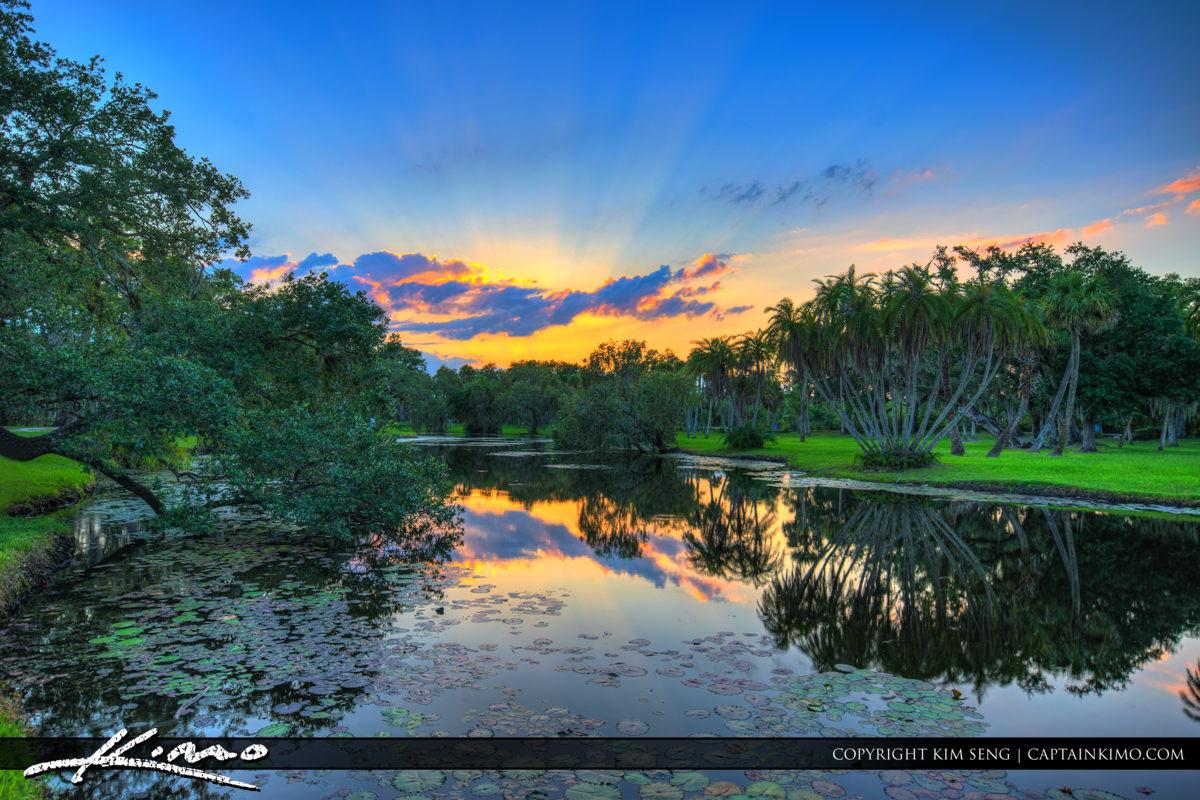 Fort Pierce White City Park Pond at the Park
