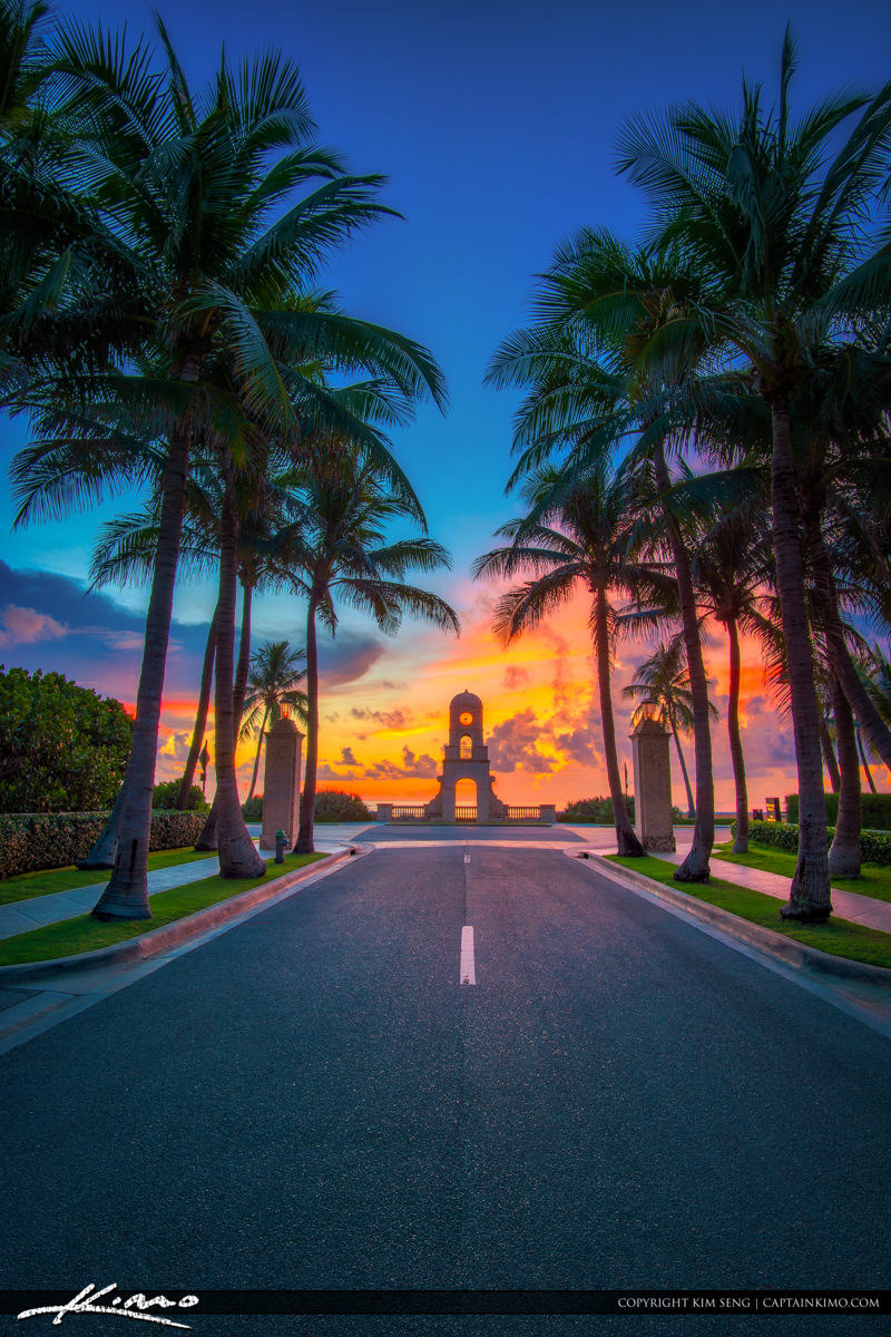 Worth Avenue Palm Beach at Ocean Boulevard