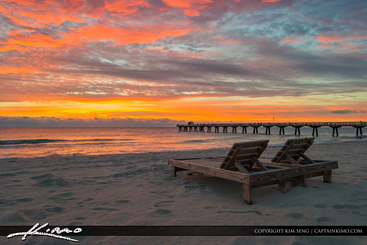 Pompano Beach Pier Beach Chair Paradise