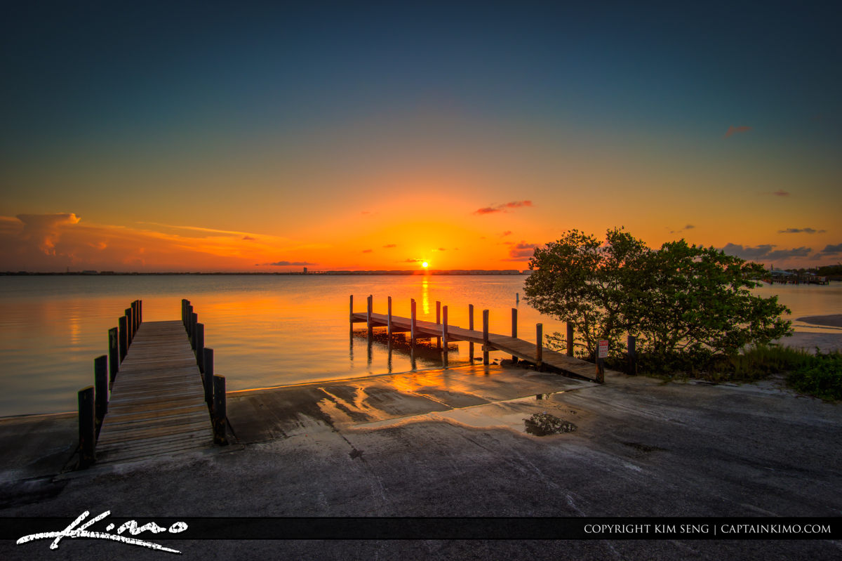 Jaycee Park Fort Pierce Sunset