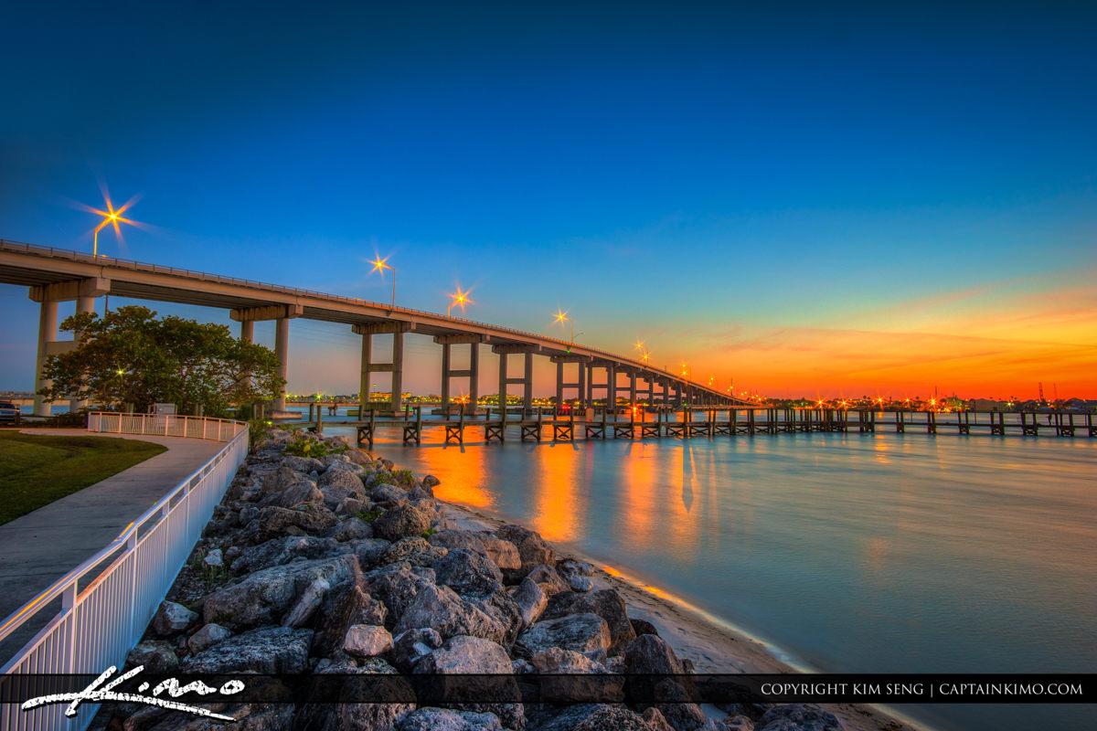 South Causeway Bridge Fort Pierce Florida