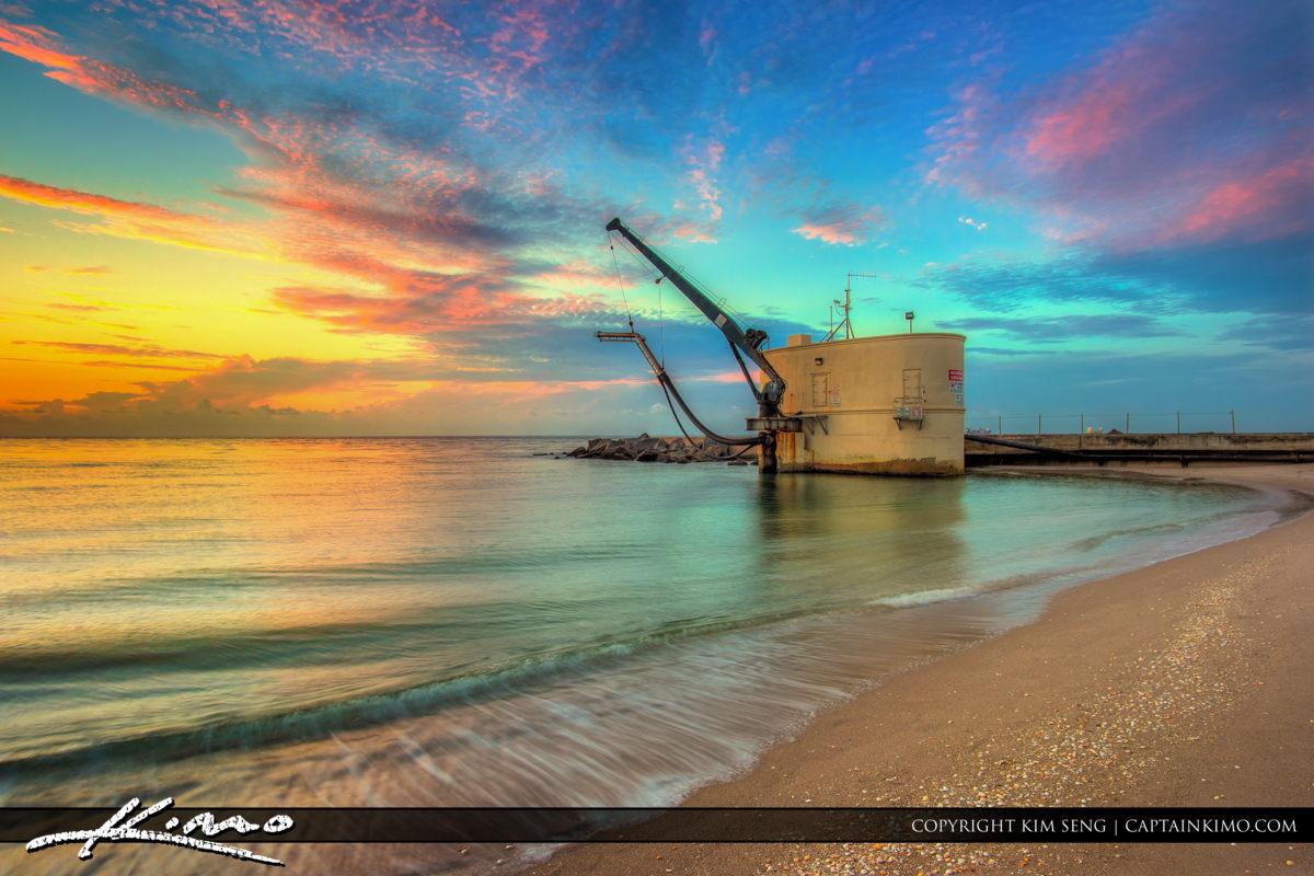 Pumphouse at Sunrise Palm Beach Inlet Singer Island Florida
