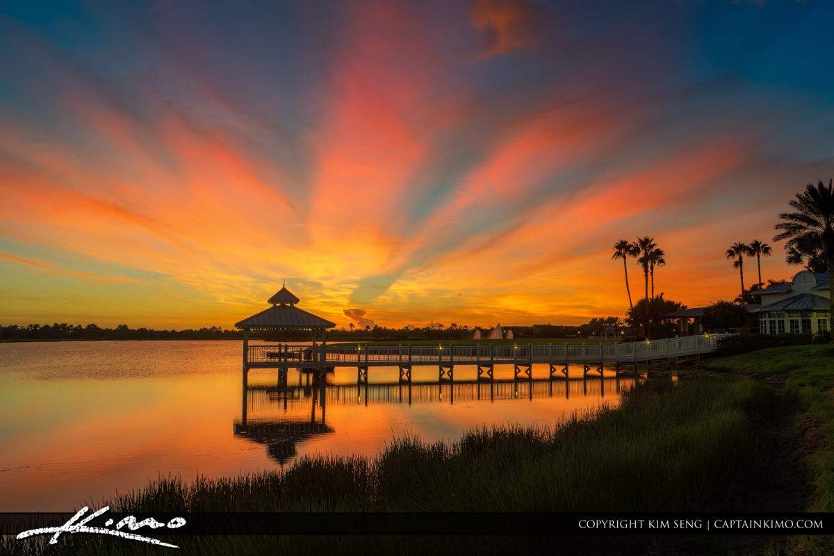 Trease Coast Sunset at the Tradition Port St Lucie