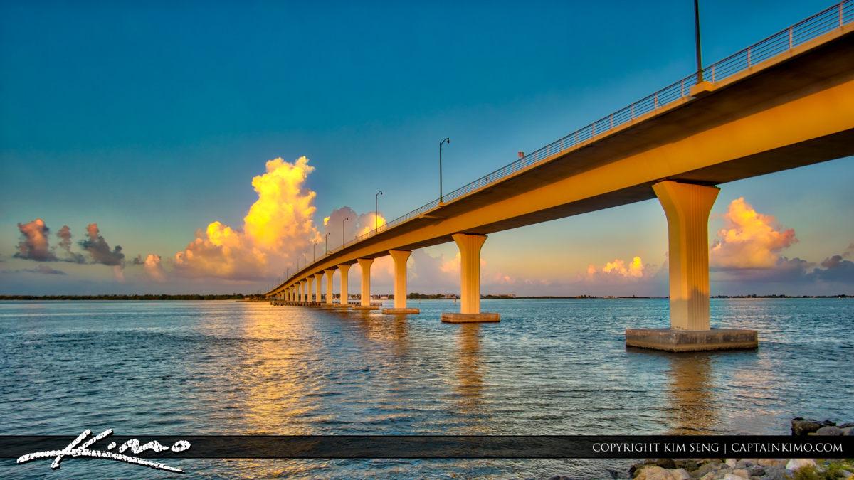 Bridge to Hutchinson Island Stuart Florida