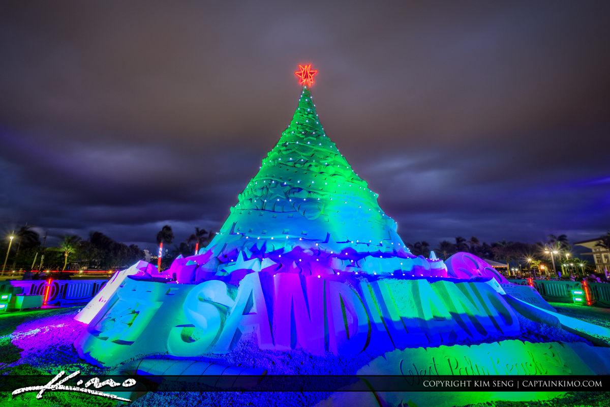 Sandi Christmas Tree West Palm Beach Florida 2016