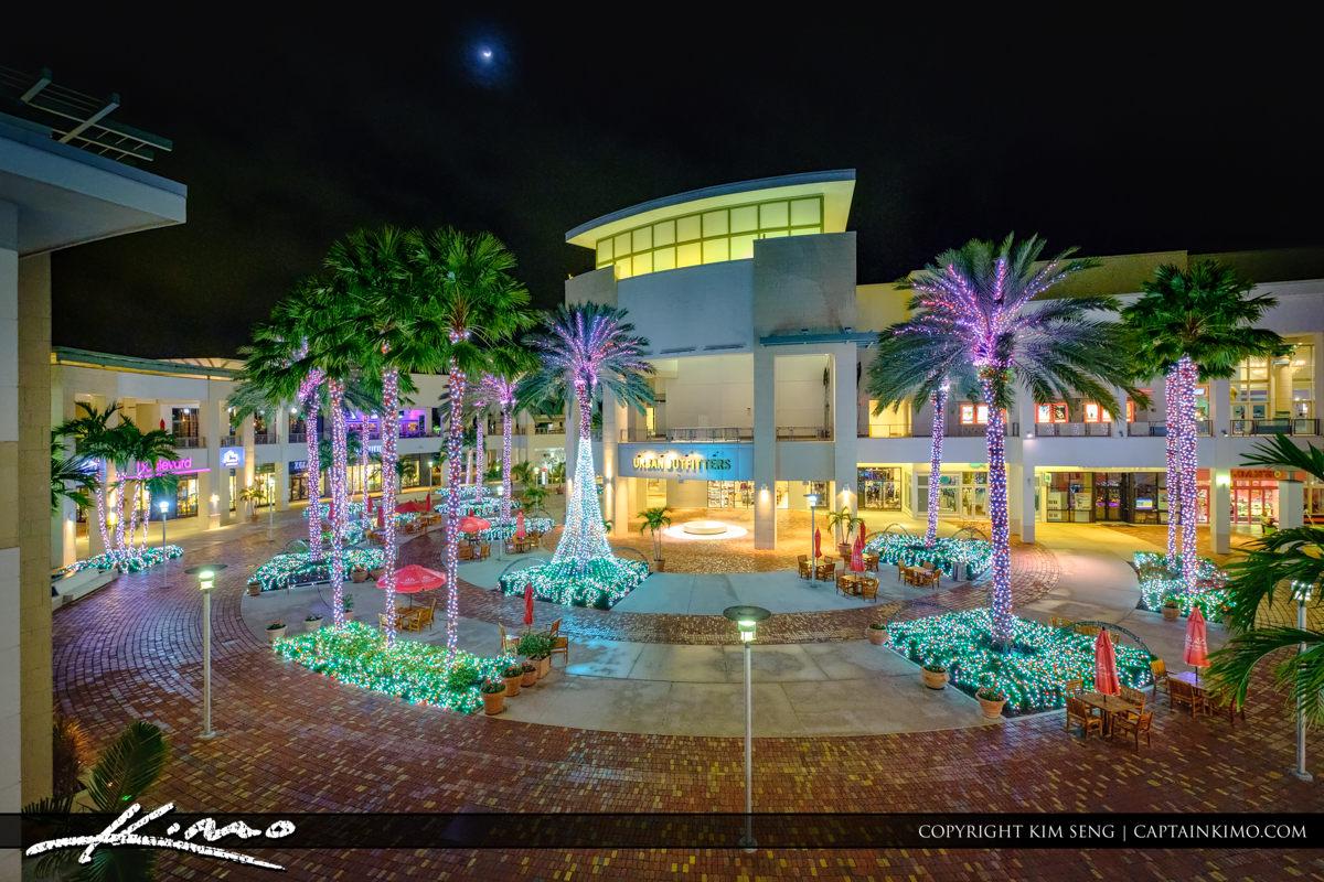 x001x Downtown at the Gardens Christmas Lights 2016 PBG Florida Main - Downtown Movie Theater Palm Beach Gardens