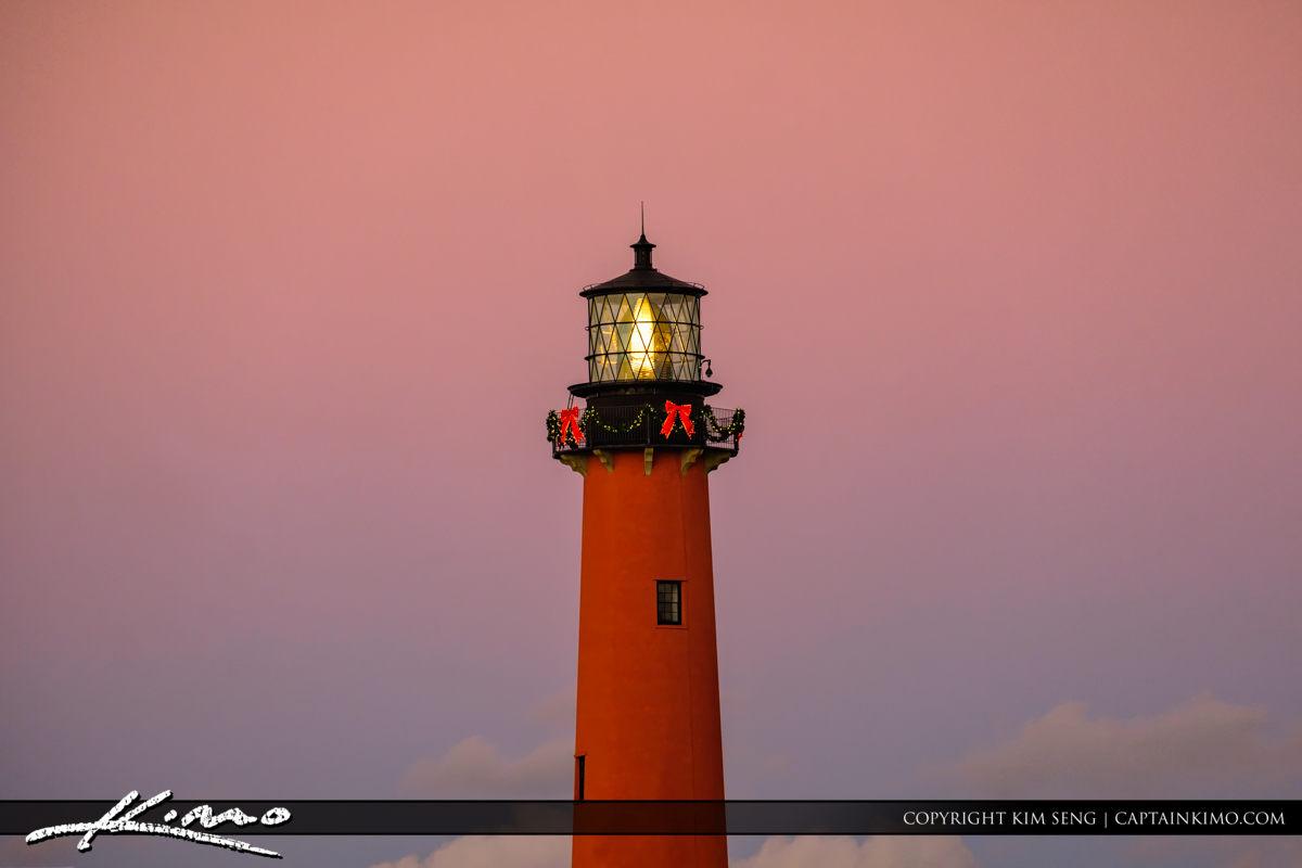 Jupiter Lighthouse Holiday Decorations 2016