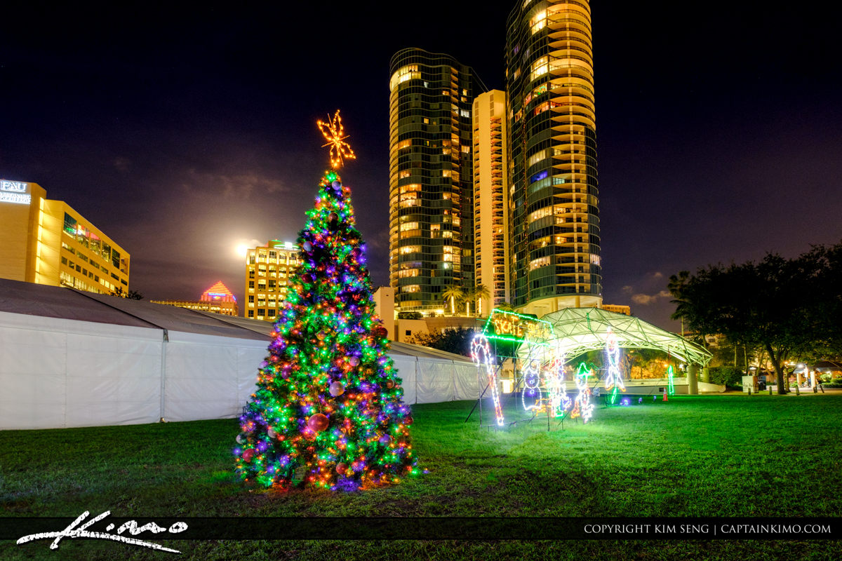 Fort Lauderdale Downtown Christmas Tree