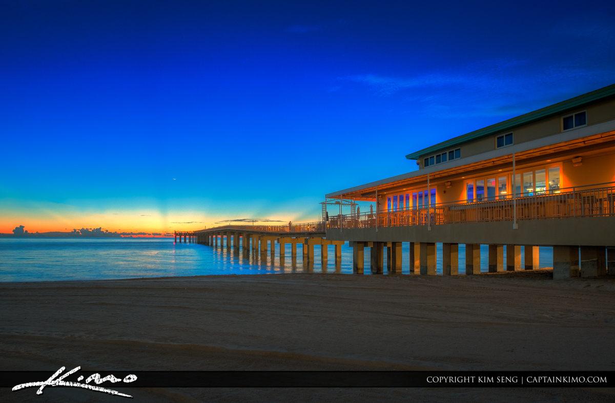 Sunny Isles Pier at Sunrise