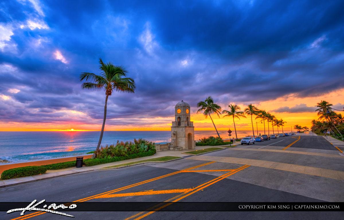 Ocean Boulevard Sunrise Worth Avenue Palm Beach Island