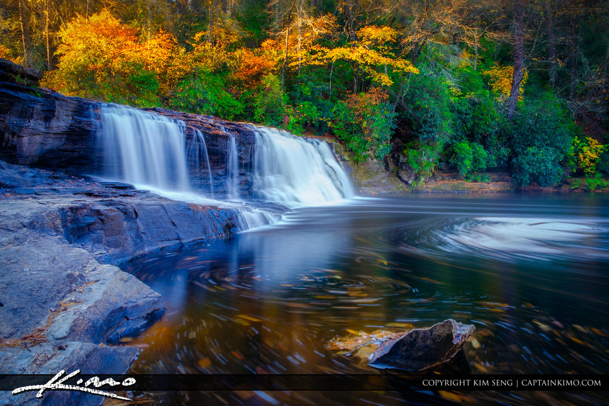 Hooker Falls Dupont State Forest North Carolina Fall Colors