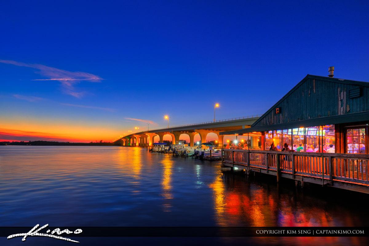Riverside Cafe on the Indian River Merril P Barber Bridge Vero B