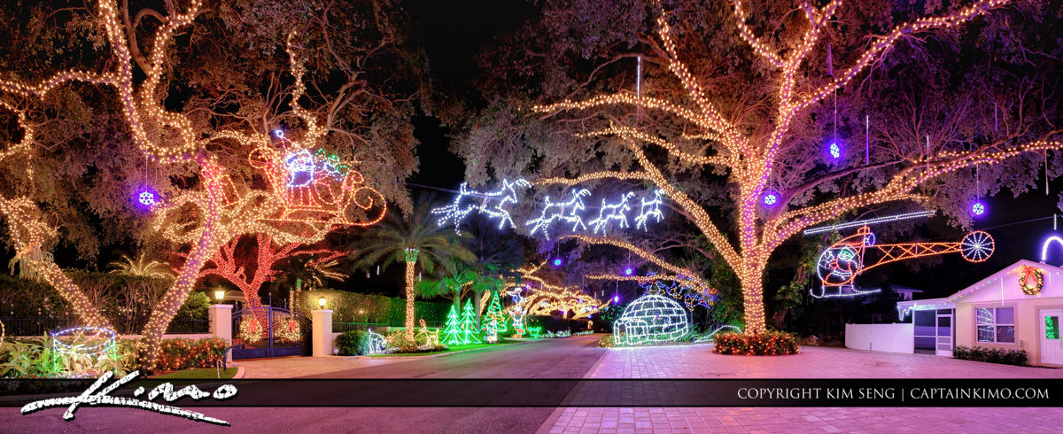 Snug Harbor Christmas Lights 2016 Palm Beach County Florida