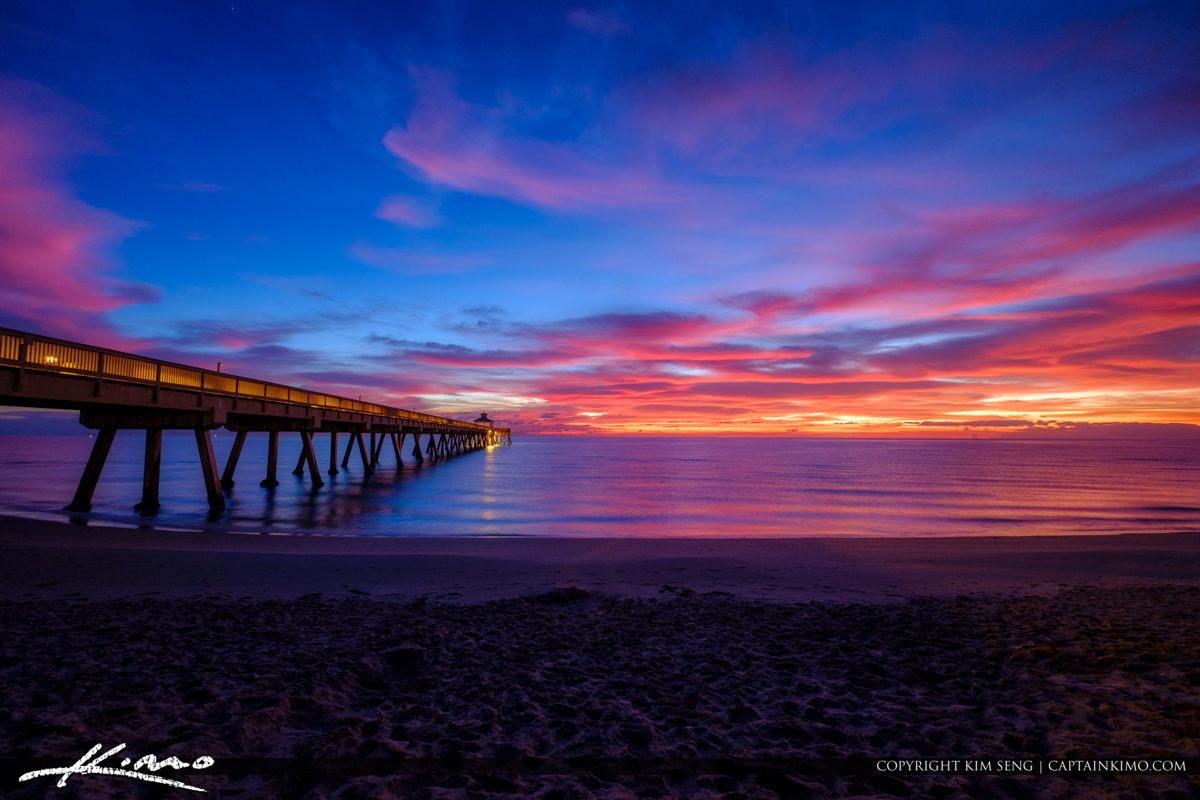 Deerfield Beach International Fishing Pier Gorgeous Beach Sunris