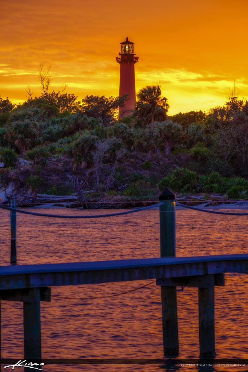 Along the Loxahatchee River at the Jupiter Lighthouse for Sunset