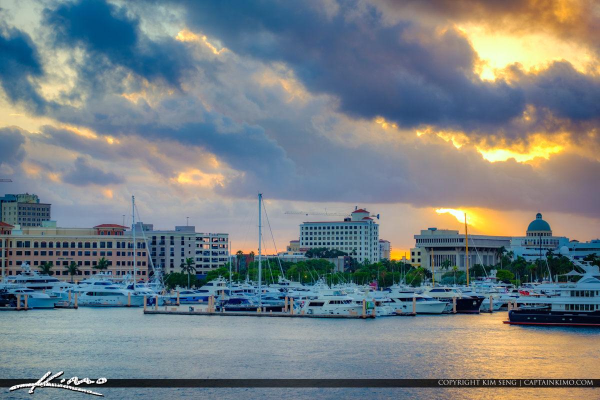 West Palm Beach Sunset 2016-12-27