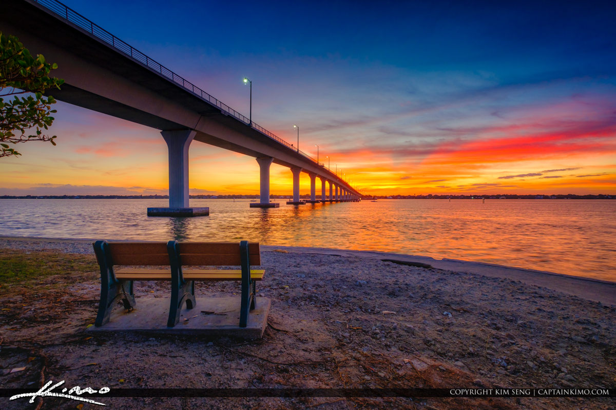 Causeway Bridge Hutchinson Island Stuart Florida