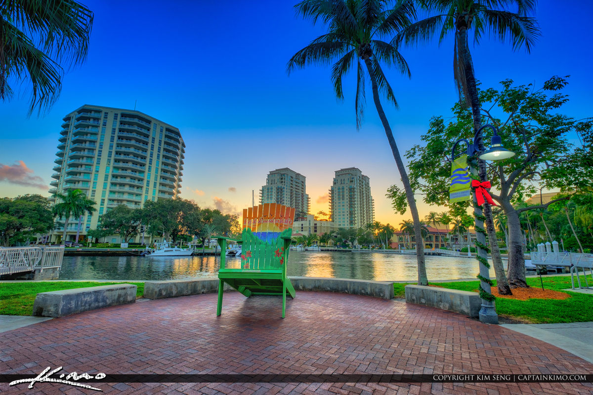 Fort Lauderdale Riverwalk New River