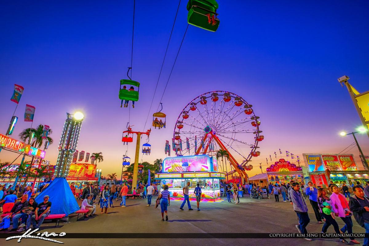 South Florida Fair Food Fun and Rides