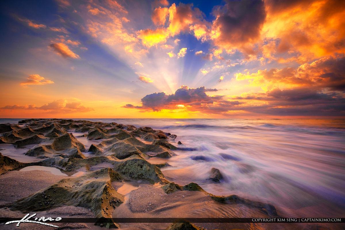 Ocean Reef Park Sunrise Magic South Florida