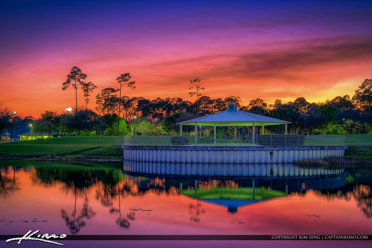 Greenacres Freedom Park Greenacres Florida Sunset Palm Beach County