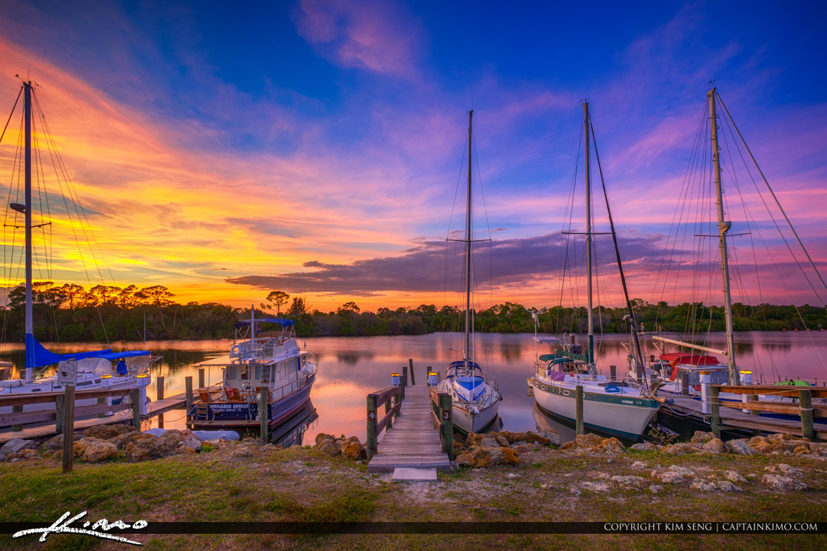 St Lucie South Campground Stuart Florida St Lucie River