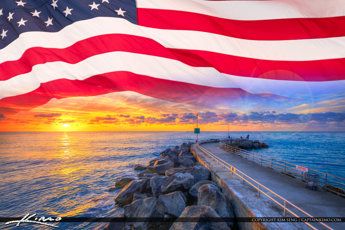 Memorial Day Weekend Jupiter Inlet Sunrise