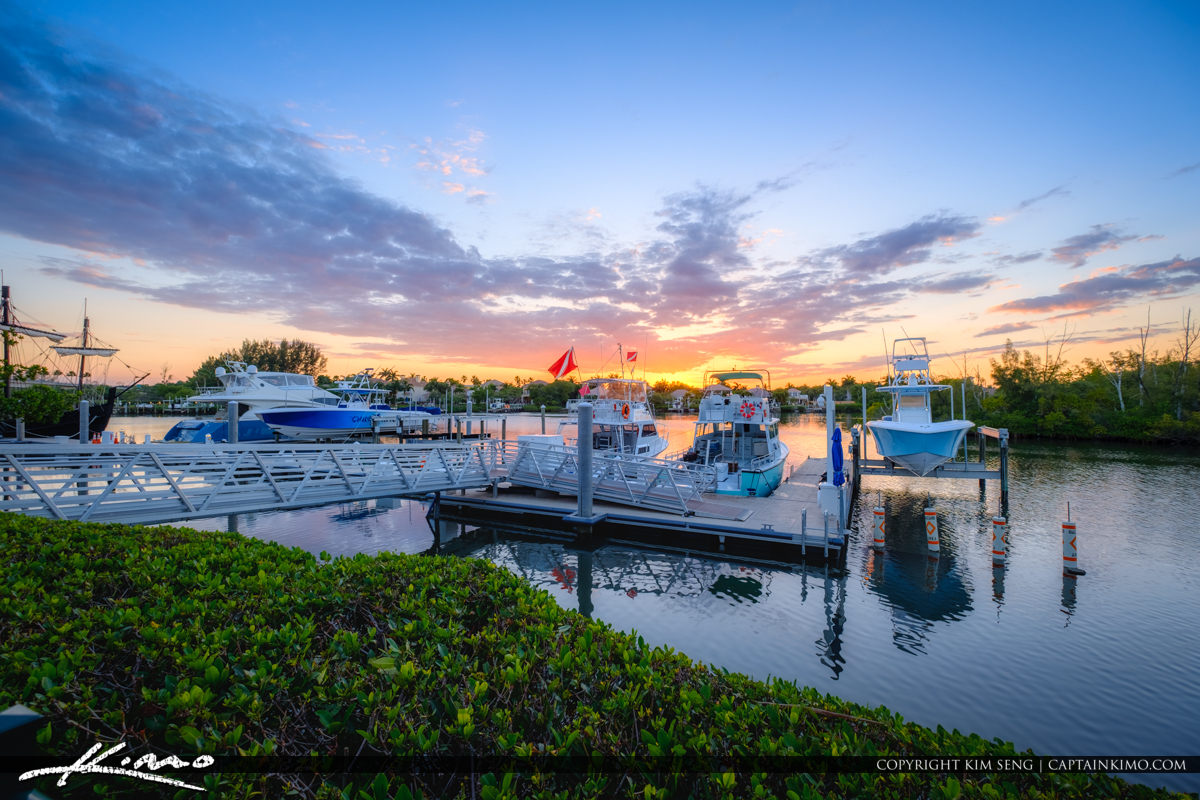 Harbourside Waterway Jupiter Florida
