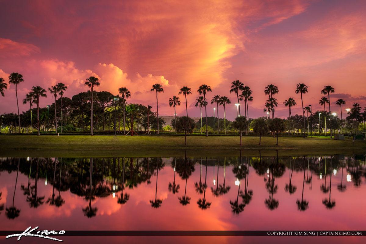 San Matera the Gardens Sunset Palm Beach Gardens Florida