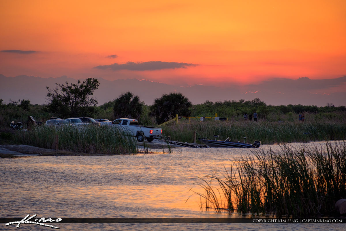 Parkland Florida Boat Ramp at the Marsh