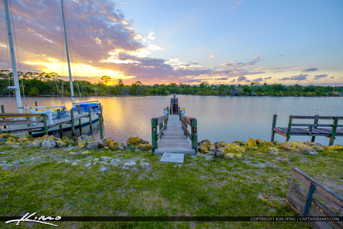 St Lucie Lock and Dam Dock to Sunset Staurt