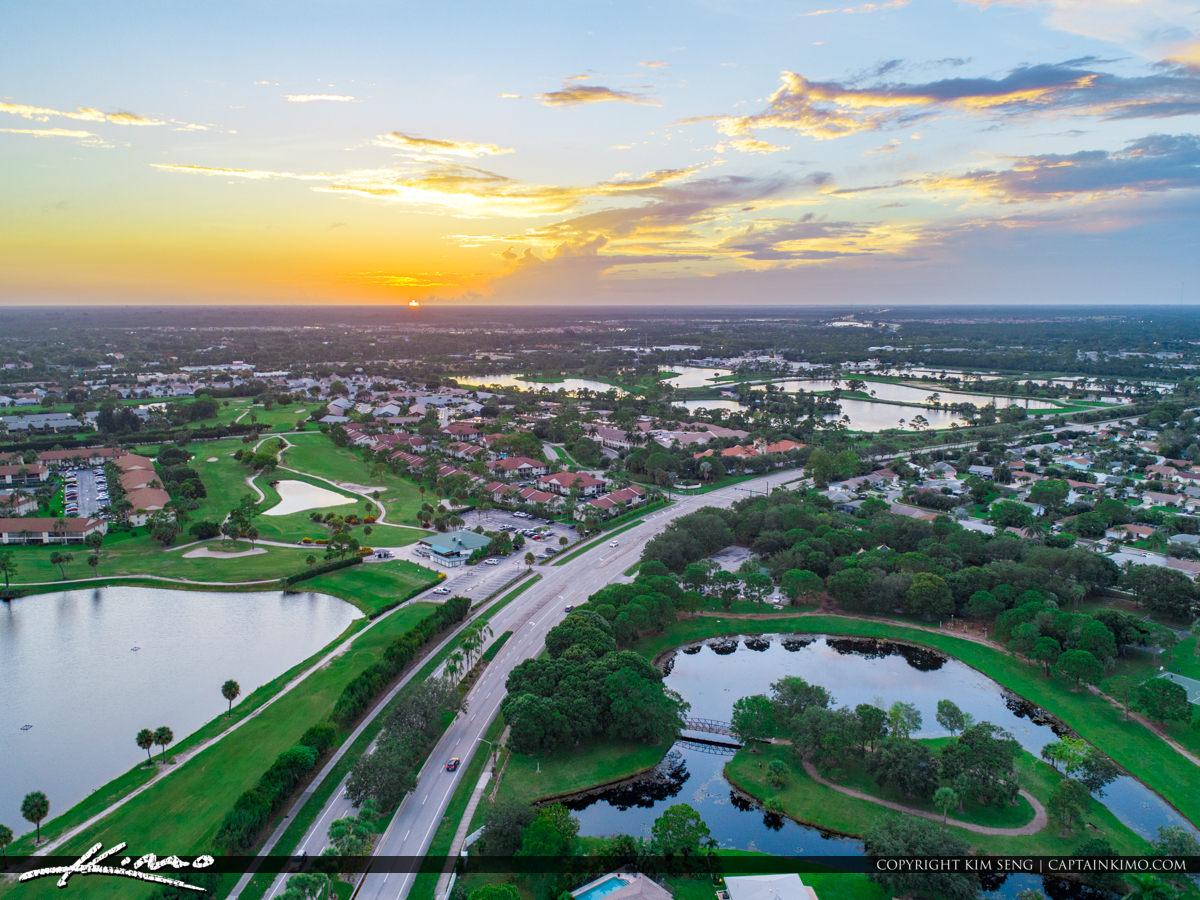 Jupiter Florida Aerial Indian Creek Park