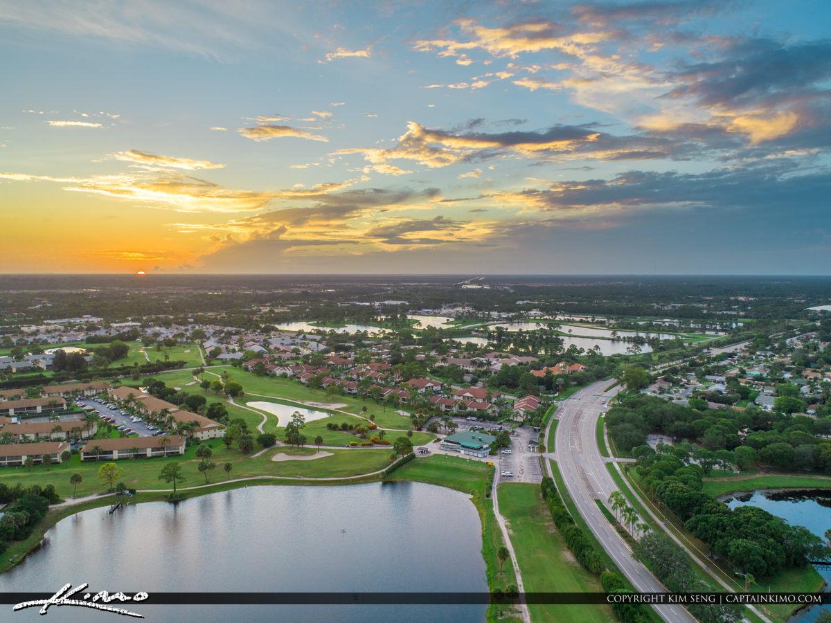 Jupiter Florida Aerial Golf Club of Jupiter