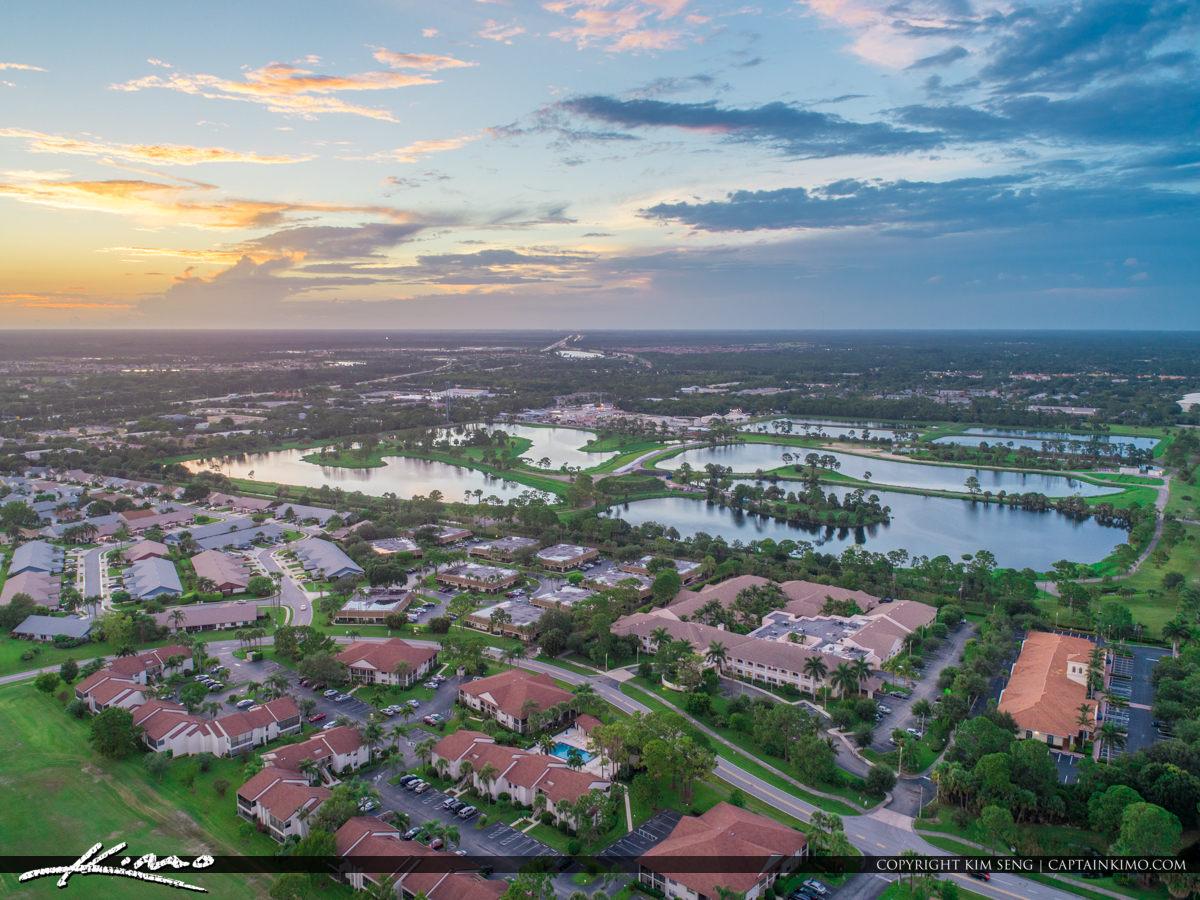 Jupiter Florida Aerial Indian Creek Community