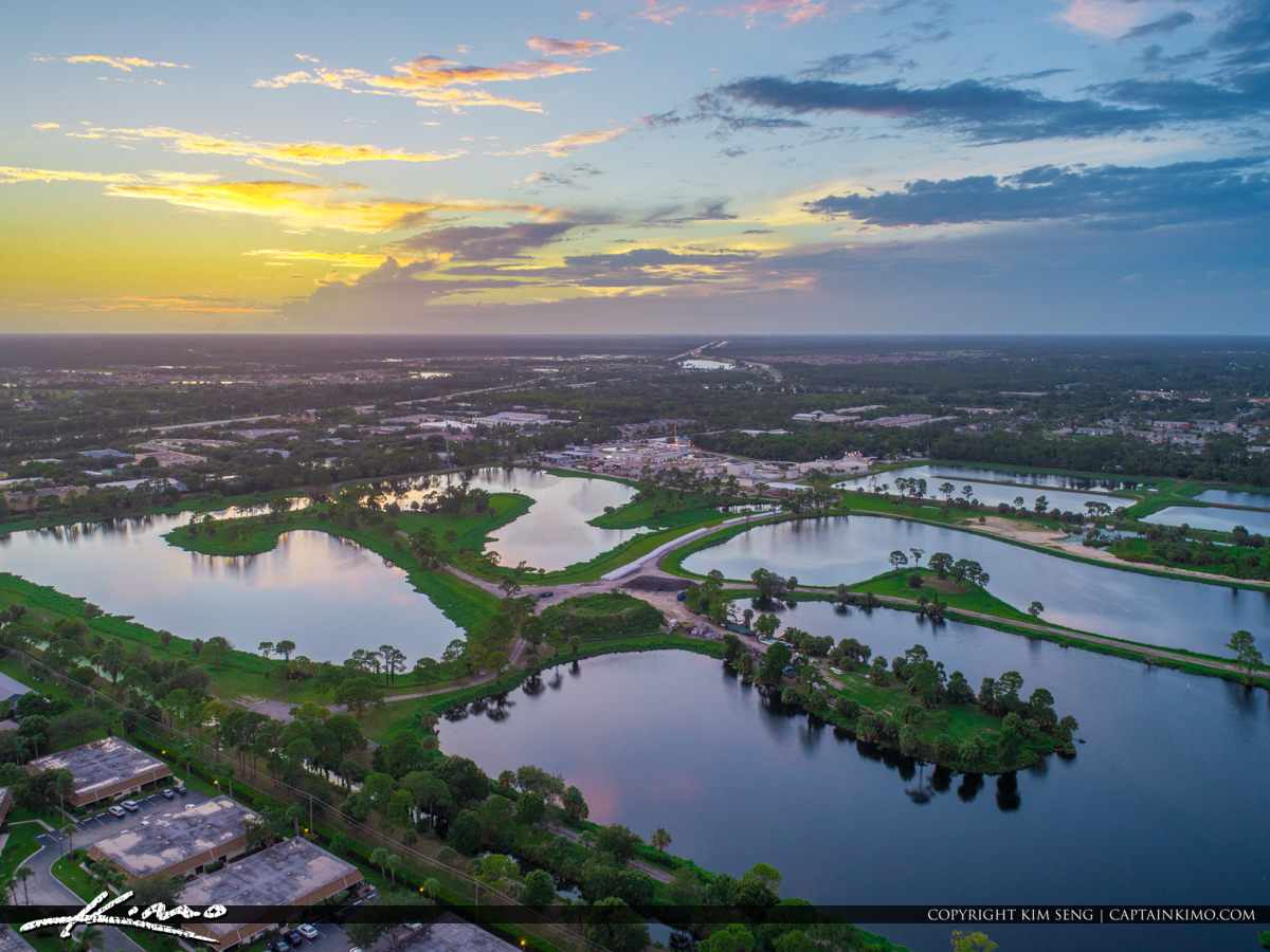Jupiter Florida Aerial Water District