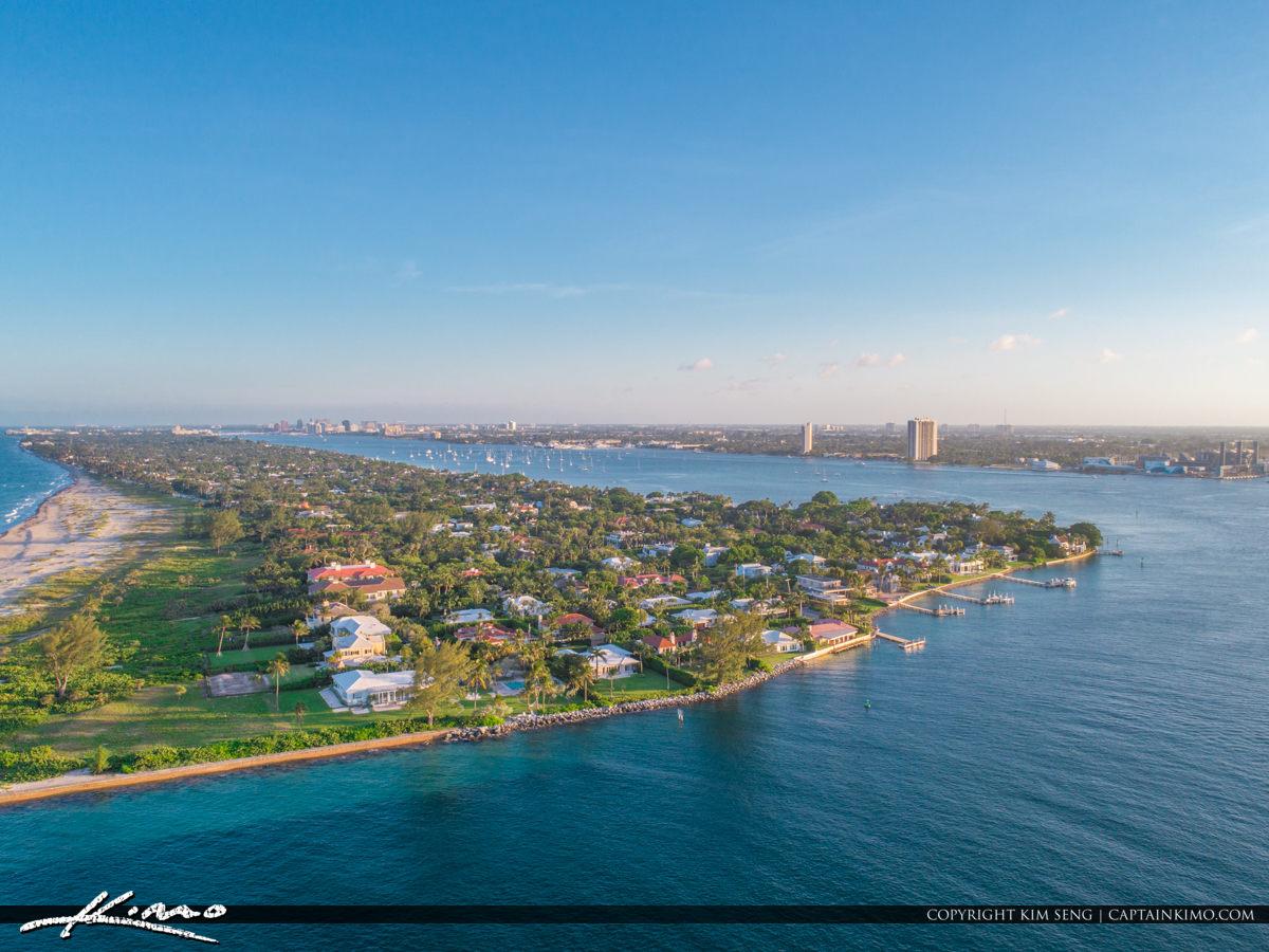 Palm Beach Inlet Palm Beach Island