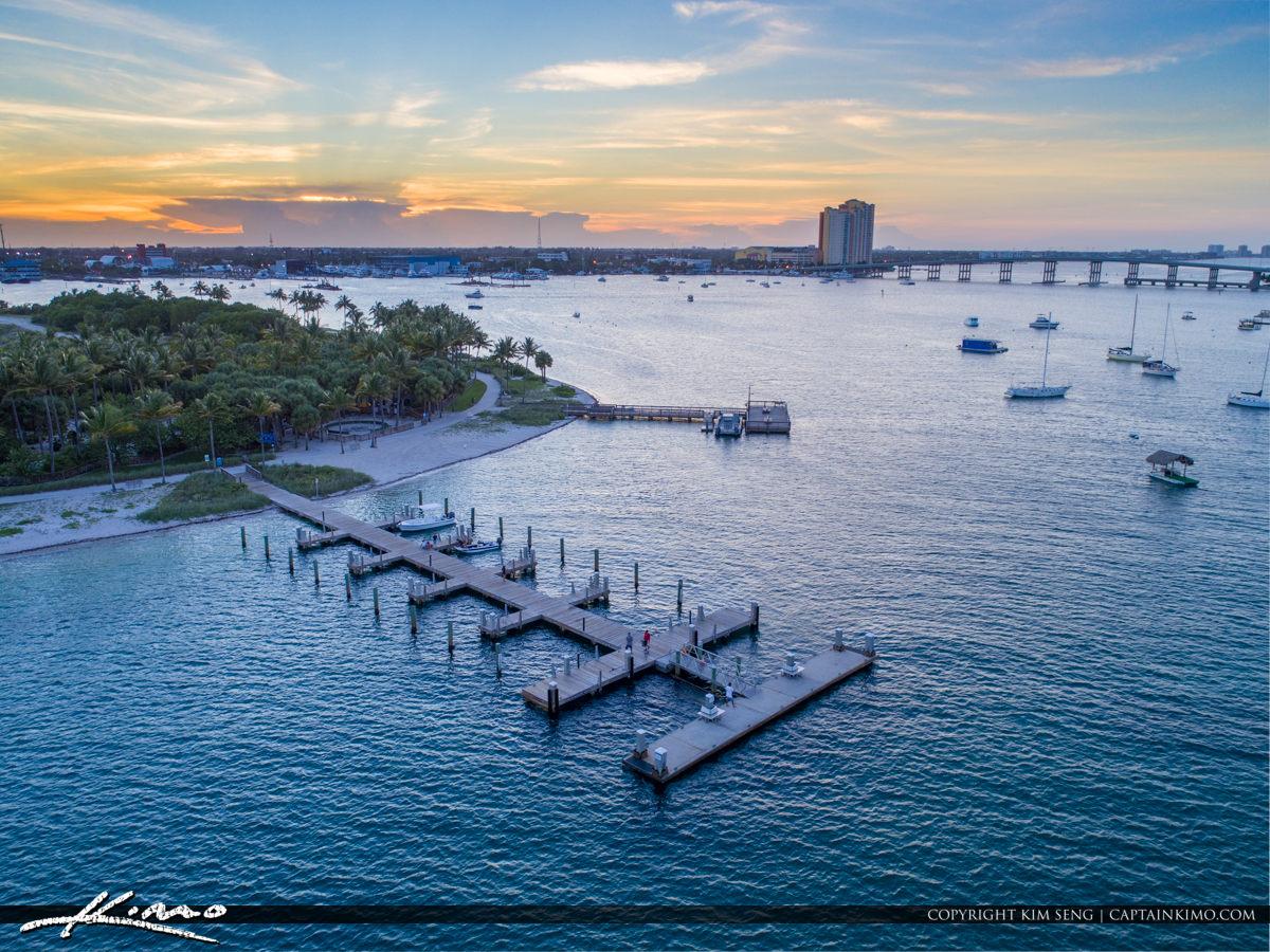 Palm Beach Inlet Peanut Island Boat Dock
