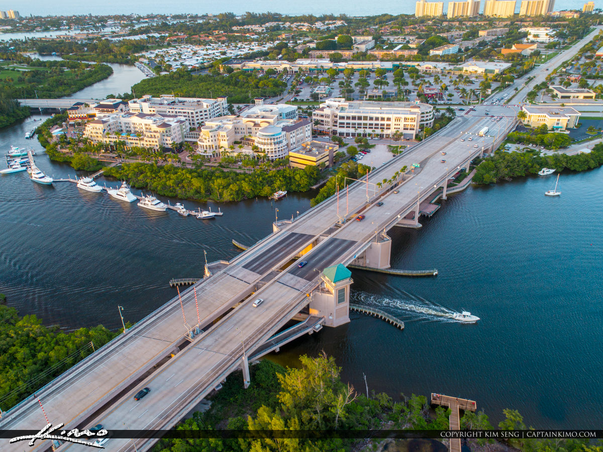 Jupiter Florida Indiantown Bridge Harbourside