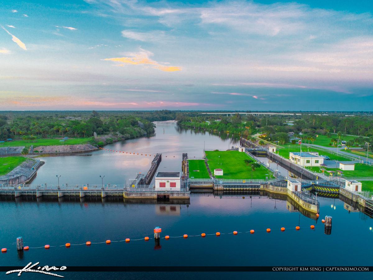 St Lucie Lock and Dam Waterway